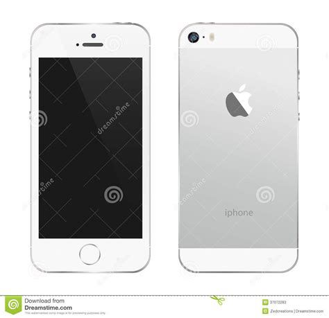 Illustrations For Iphone 5 5s iphone 5s white editorial stock photo image 37072283