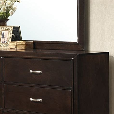 modern wood bedroom furniture roundhill furniture 5 piece montana modern wood bedroom