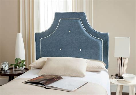 Denim Headboard by Tallulah Denim Blue White Headboard Headboards