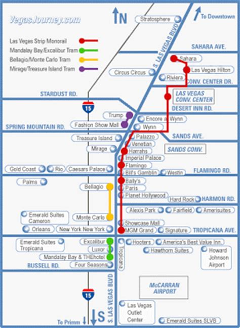 vegas monorail map travel dude s guide to everywhere