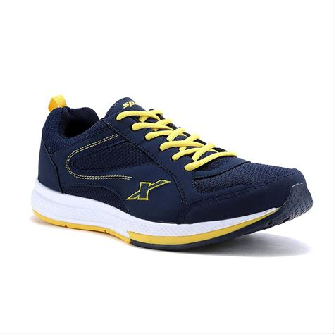 navy blue running shoes sparx running shoes navy blue and yellow buy sparx