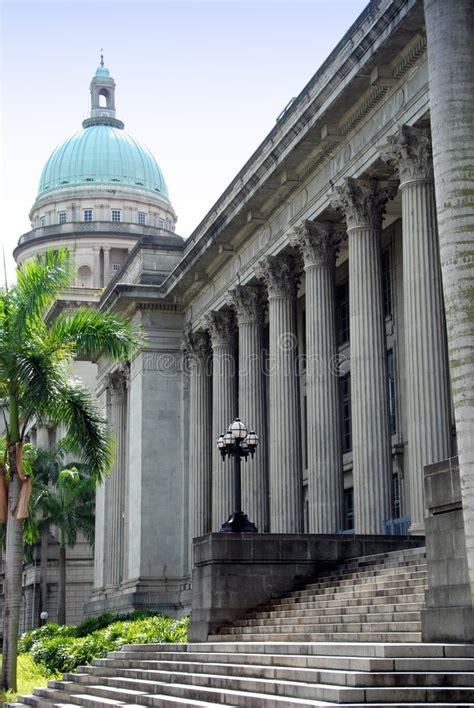 tattoo singapore city hall singapore city hall and supreme court dome stock image