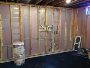 rigid foam insulation basement basement insulation maibe we re