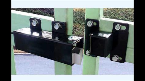 swing gate locks aleko 174 lm149 electric lock for 24v swing gate openers