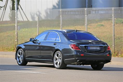 mercedes 2018 s class 2018 mercedes s class taillights spied in detail