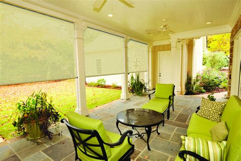 lowes outdoor porch shades blinds by material display