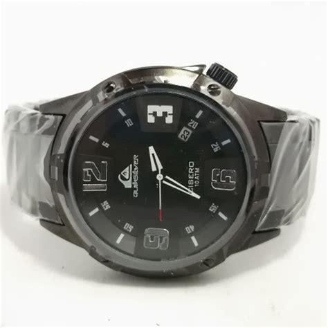 Grosir Jam Tangan Quicksilver Cisero Rantai Silver Plat Hitam Qs0 jam tangan quiksilver cisero fullblack kw