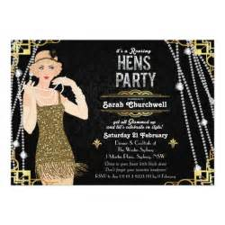 the great gatsby invitation template personalized great gatsby invitations