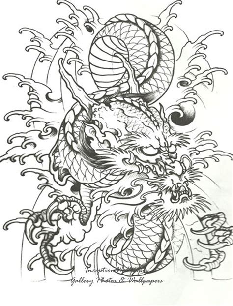 tattoo japanese stencils 1000 images about dragons on pinterest tattoo stencils