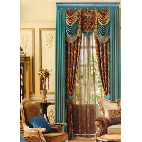 Curtains Or No Curtains Decor Blackout Velvet Curtains Blue Spliced Curtain No Valance
