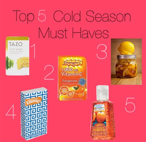 Your Must Haves For The Season by Spice Drop Top 5 Cold Season Must Haves