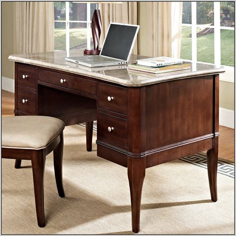 Marble Top Computer Desk Desk Home Design Ideas