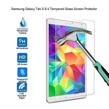 Nuglas Tempered Glass Samsung Galaxy Tab S 8 4 Original Anti Gores Hp i tech premium tempered glass screen protector for samsung galaxy tab s 8 4 9 00 deals and