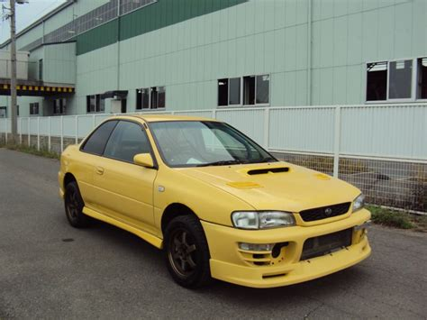 subaru impreza wrx type subaru impreza wrx type r version 1997 used for sale