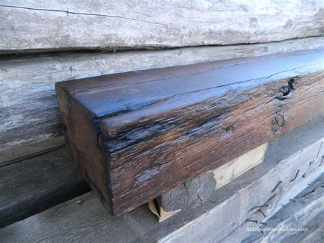 Fireplace Sill by White Oak Sill Fireplace Mantel Antique Woodworks
