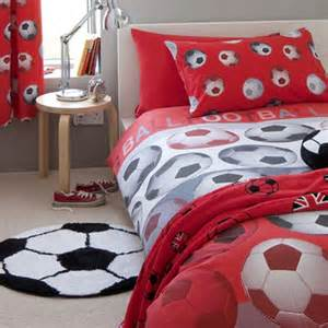 Matching Duvet Covers And Curtain Sets Football Bedding Range Kids Bedding Bedding