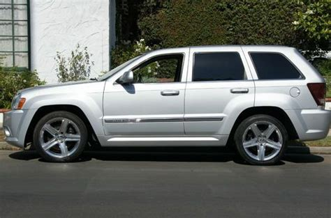 Jeep Srt8 For Sale Los Angeles Buy Used 07 Jeep Grand Srt8 Only 76k Navi