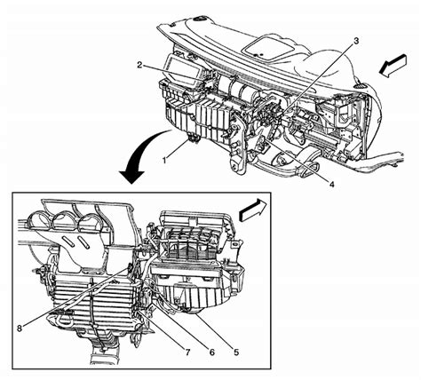 Service Manual 2009 Saturn Aura How To Remove Evaporator