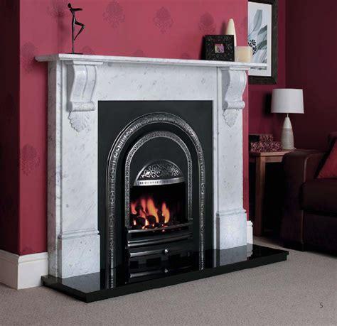 electric cast iron fireplace cast tec integra ashbourne polished stoke gas