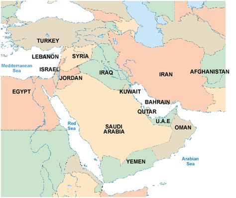 mideast map countries middle east countries map pictures map of asia pictures