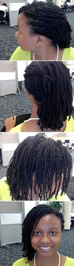 how to make stranded hair nappy kids kinky twist hairstyles galore pinterest