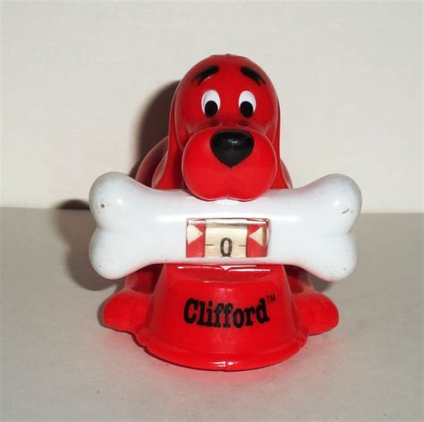 clifford the big toys wendy s 2002 clifford the big counter meal used