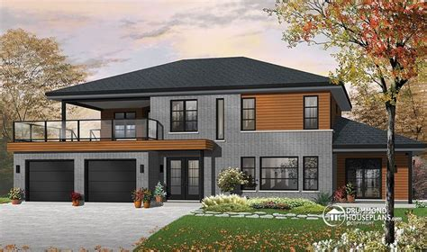 modern multi family house plans drummondhouseplan 3046 the silkwood is a beautiful modern