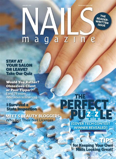 Nail Magazine by Nails Magazine 2014 01 By Reforma Nails Cz Issuu