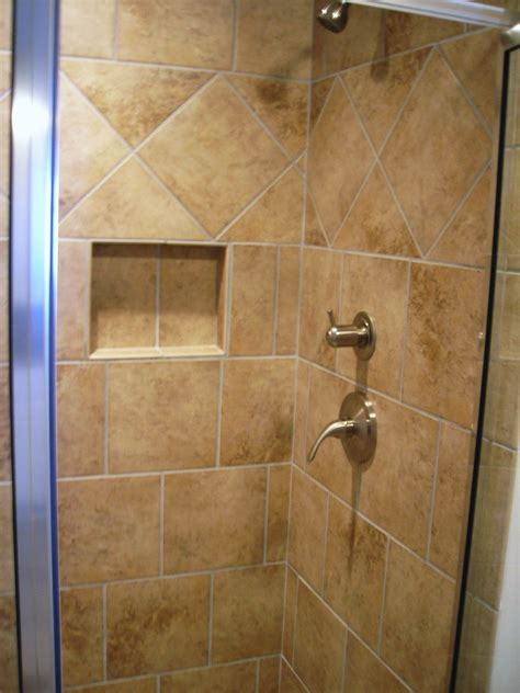 Tile Bathroom Shower Ideas 9 Gorgeous Bathroom With Suitable Shower Tile Designs Polkadot Homee Ideas
