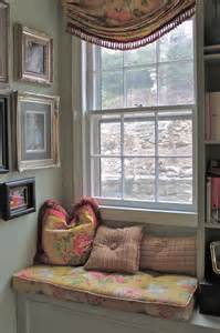 How To Decorate A Bow Window window seats roxanne lumme interiors