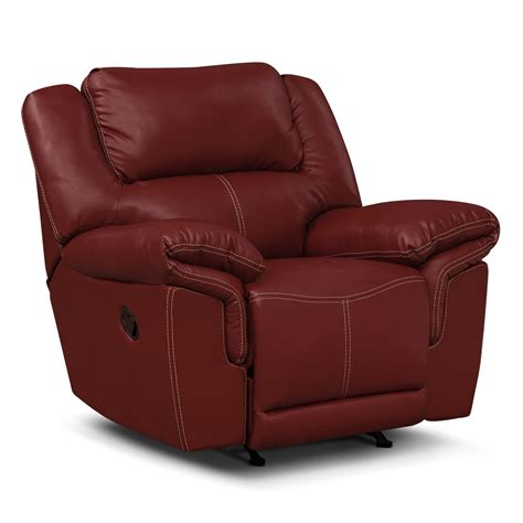 recliners chairs on sale jaguar ii leather rocker recliner value city furniture