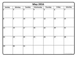 may calendar template may 2016 calendar template may 2016 printable calendar