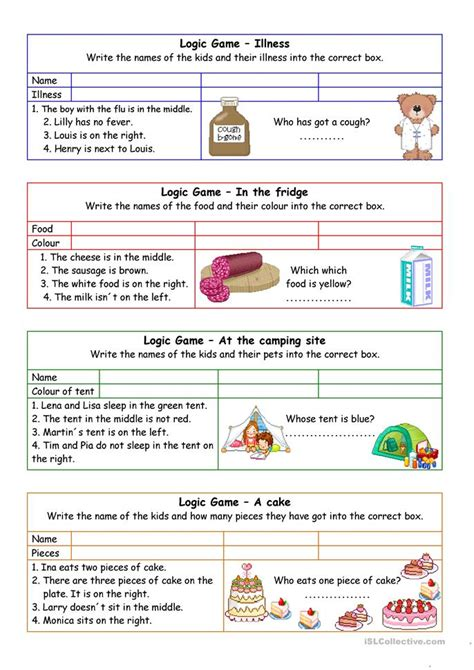 printable reading games for adults logic games for young learners 02 key worksheet free