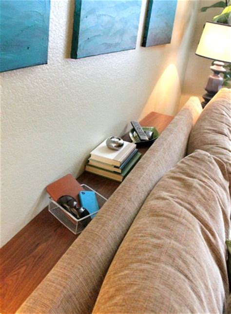 behind the couch bookshelf hometalk upcycling an old bookcase into a sofa table