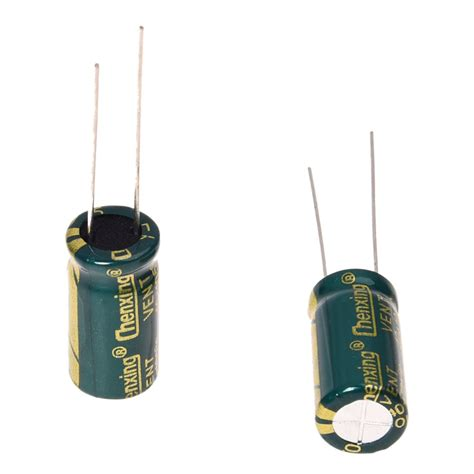 how to read radial capacitor 10pcs 10v 3300uf motherboard electrolytic capacitor radial pk ebay