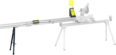 table saw with automatic stop sawgear automatic miter saw fence system and chop saw