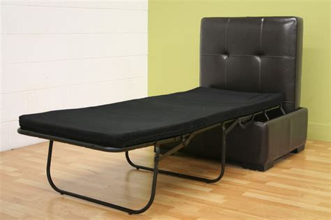 ottoman pull out bed pull out bed ottoman ottoman in brown or black with pull