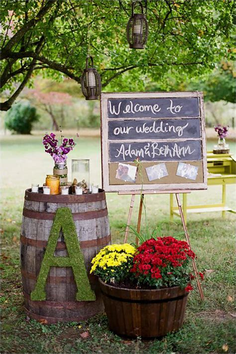 30 Sweet Ideas For Intimate Backyard Outdoor Weddings