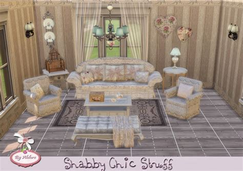 shabby chic stuff alelore sims 4 shabby chic stuff sims 4 downloads