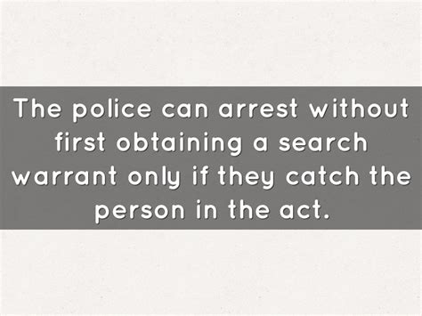 Can Search Your House Without A Warrant by Chapter 5 By Daniel Martirosyan