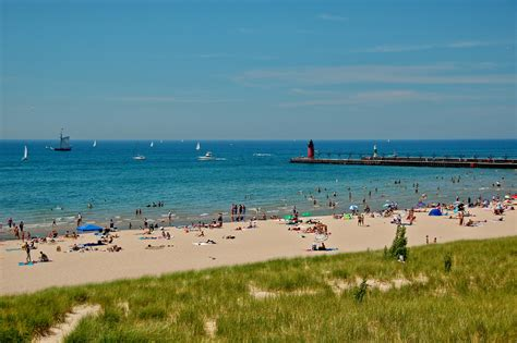 beaches in michigan a so strong summer gross