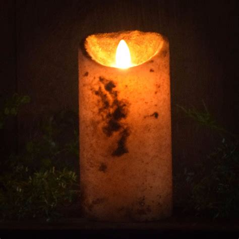 Look That Candles On by Real Look Flameless Battery Timer Candle Herbal