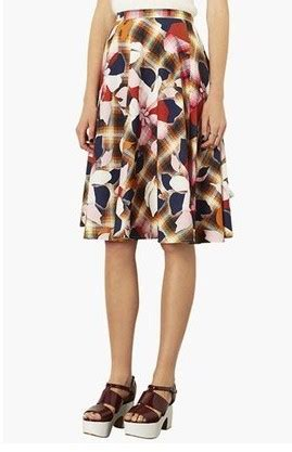 Midi Flower Punching Skirt 616 Rok Midi Rok Pesta Rok Berkualitas pretty skirts for the newest fashion week pretty designs