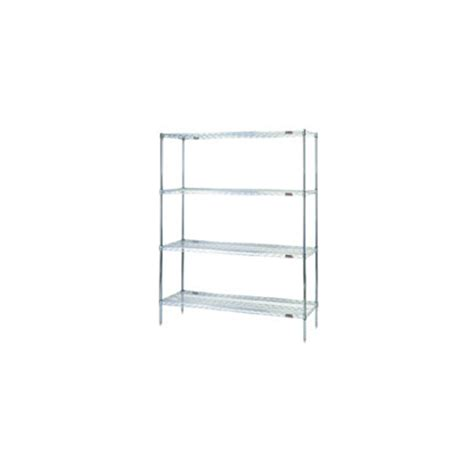 wire rack shelving wire shelving rack eaglegard a5 86 1860e by cleatech llc