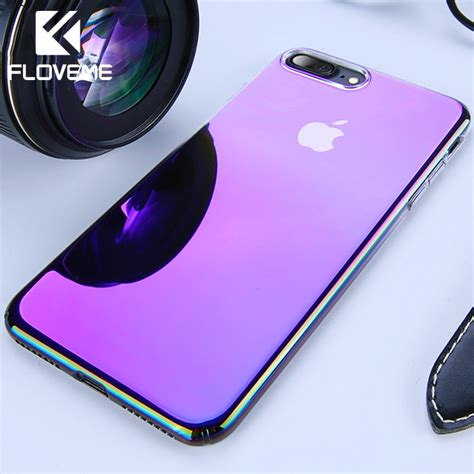 floveme unique for iphone 5 5s x xs max luxury gradient ultra thin plastic cover for iphone