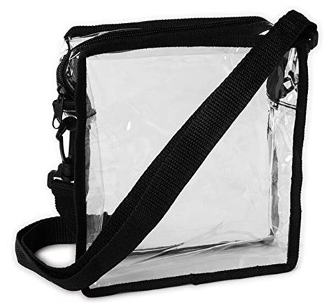 Transparan Sling Bag clear pvc transparent shoulder sling bag hip purse pouch