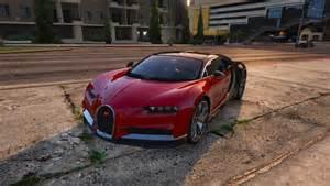 How To Buy A Bugatti In Gta 5 2017 Bugatti Chiron Add On Replace Auto Spoiler Hq