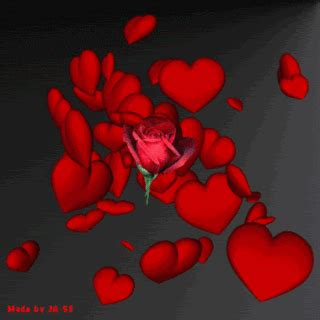 the gallery for gt animated roses and hearts