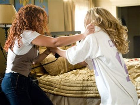 obsessed film fight scene beyonc 233 knowles and ali larter in obsessed in theaters 4