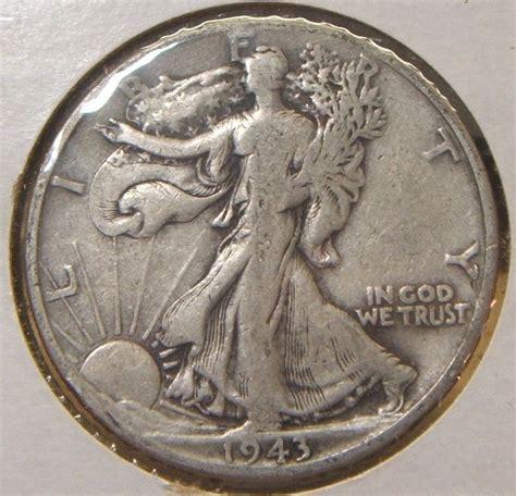 1943 d walking liberty half dollar silver vf ebay